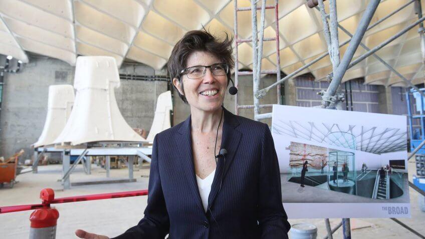Elizabeth Diller principal of Diller Scofidio + Renfro female architect