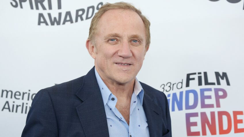 Francois Henri Pinault donates euros to Notre Dame restoration in Paris France