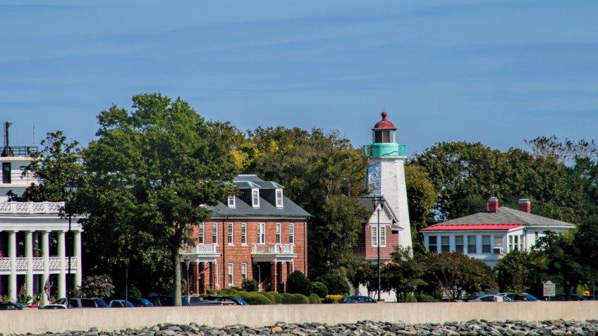 Hampton Virginia lighthouse