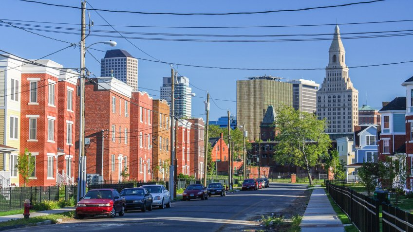 Hartford Connecticut neighborhood