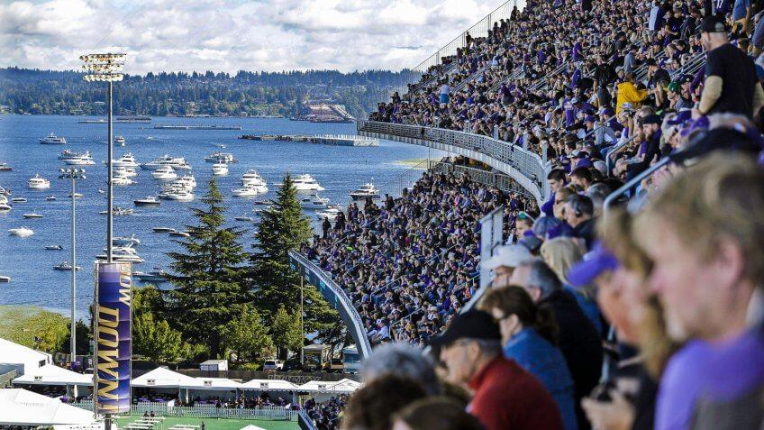 7a79607a805 Husky Stadium football at University of Washington