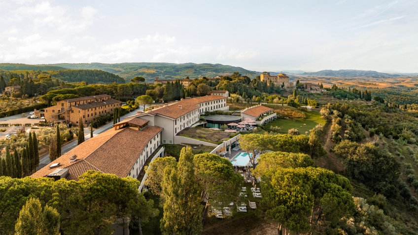 II Castlefalfi in Italy by Preferred Hotels and Resorts