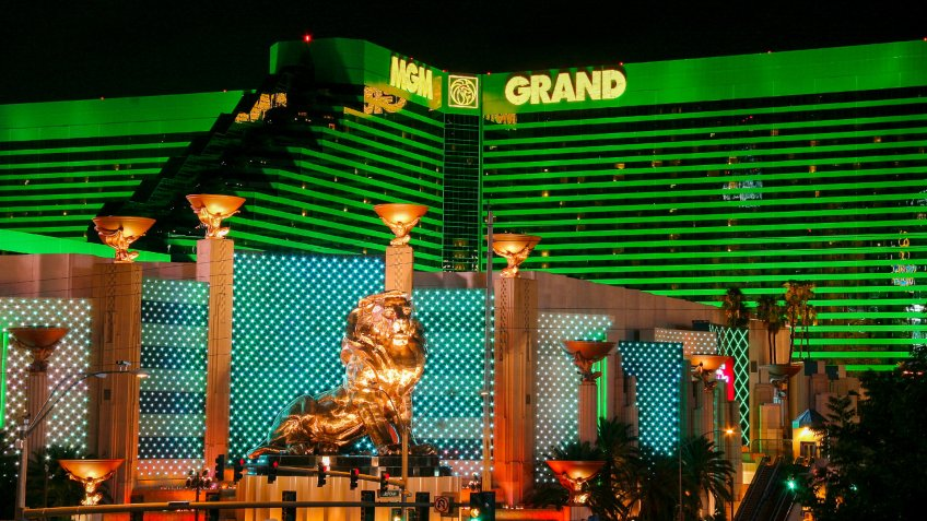 MGM Grand casino and hotel