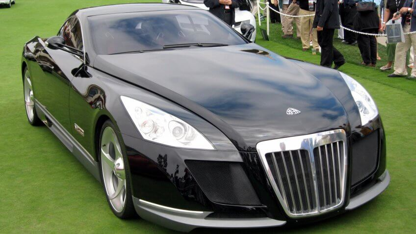 Maybach Exelero automobile