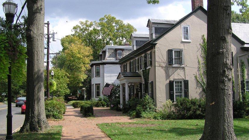 Moorsetown Historic District in New Jersey