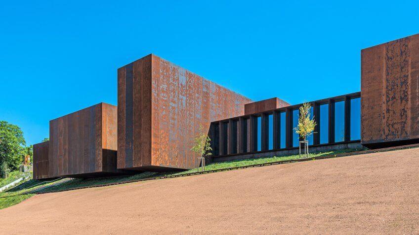 Musée Soulages designed by Carme Pigem female architect