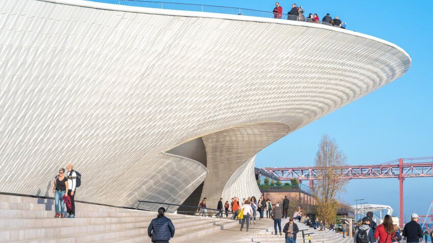 Museum of Art Architecture and Technology designed by Amanda Lev