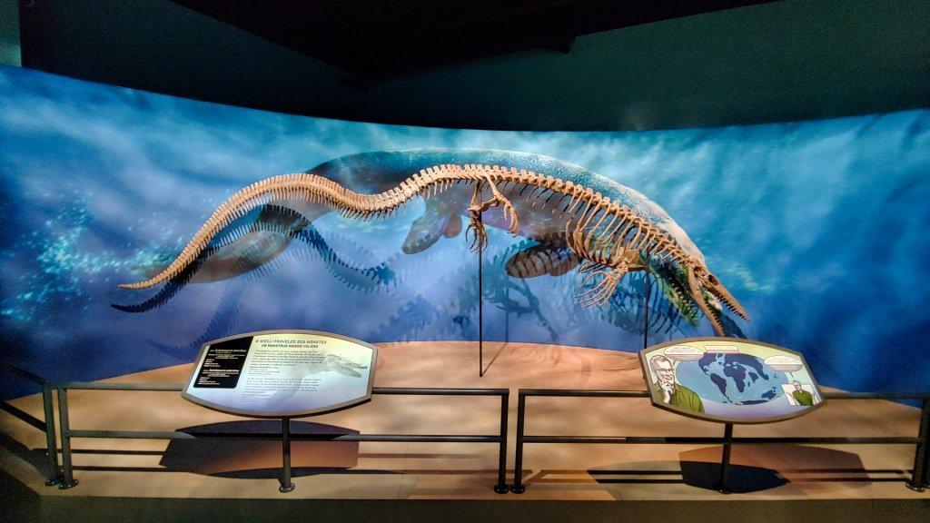 National History Museum of Los Angeles Antarctic Dinosaurs exhibit