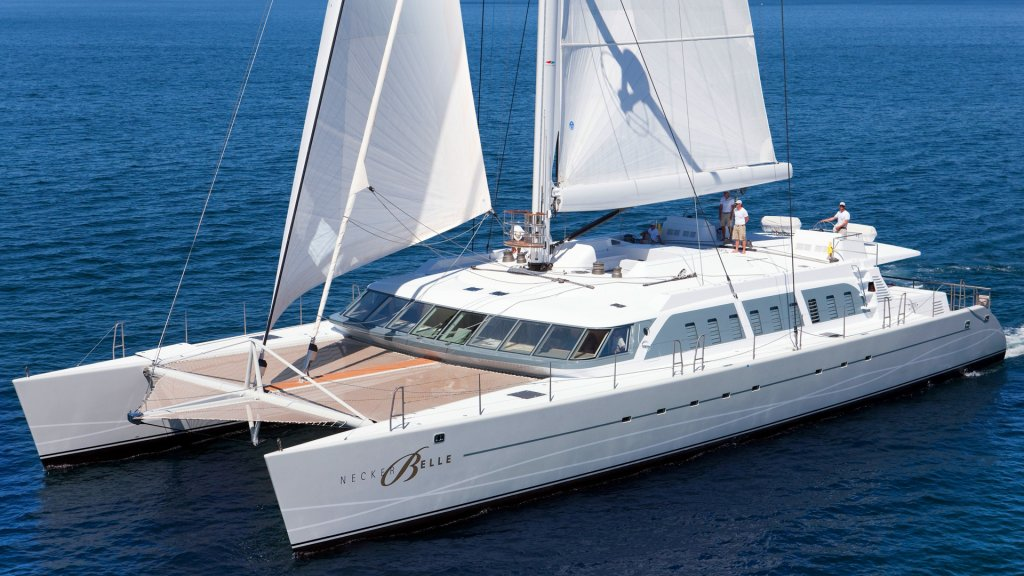 Bella Vita luxury yacht formerly known as Necker Belle
