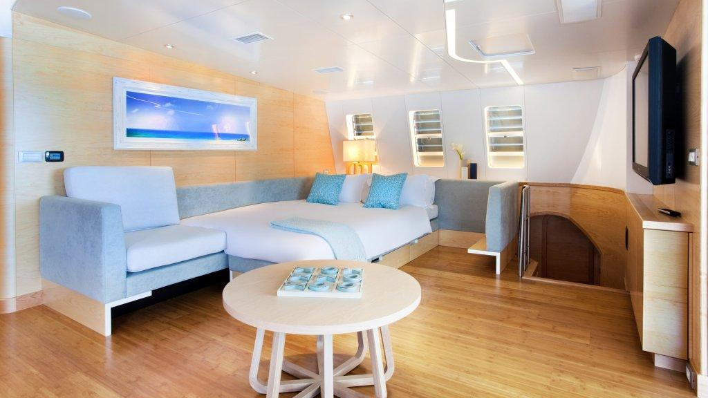 Bella Vita luxury yacht formerly known as Necker Belle