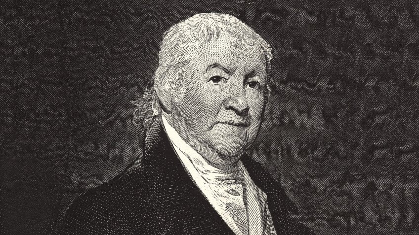 Paul REVERE 1735-1818, silversmith and folk hero of the American Revolution, propagandist and leader of the Boston Tea Party, express rider for Boston Committee of Safety, mezzotint after Gilbert Stuart