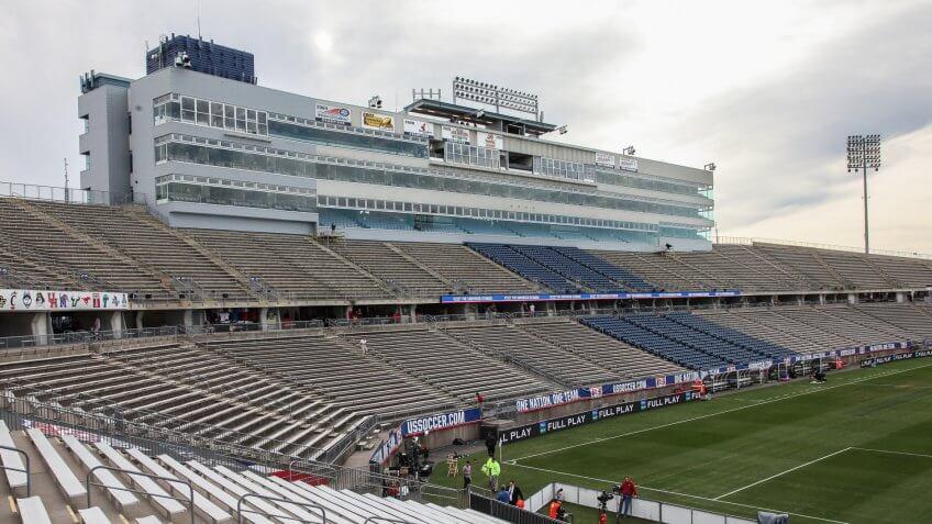 Pratt & Whitney Stadium at Rentschler Field-football-Connecticut