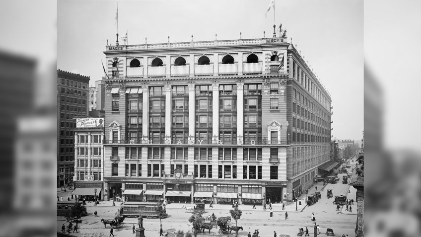 R.H. Macy and Co. New York store