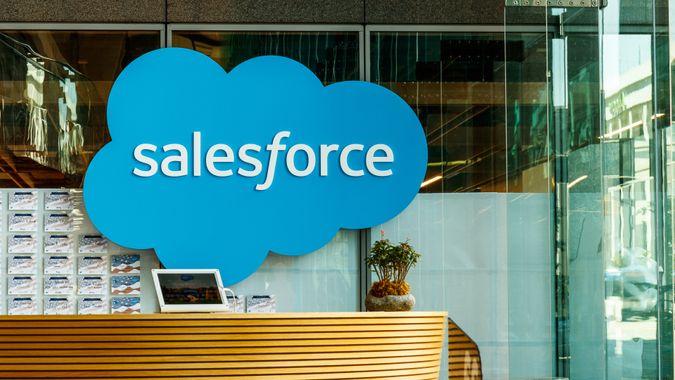 Salesforce office job growth