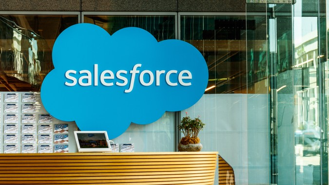 Salesforce office job growth