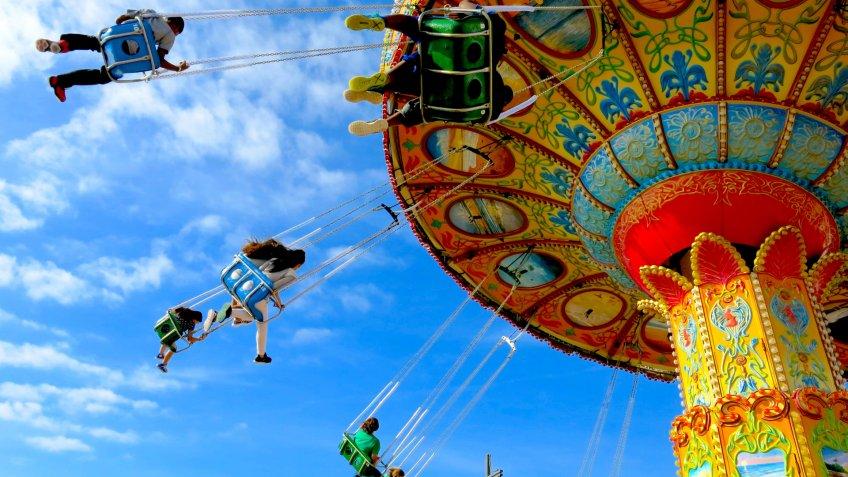Amusement Park Ride - Image.
