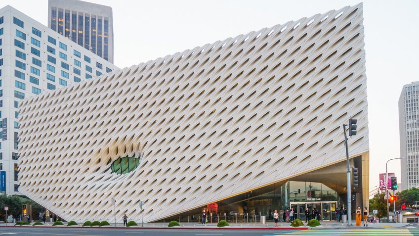 The Broad designed by Diller Scofidio and Renfro female architec