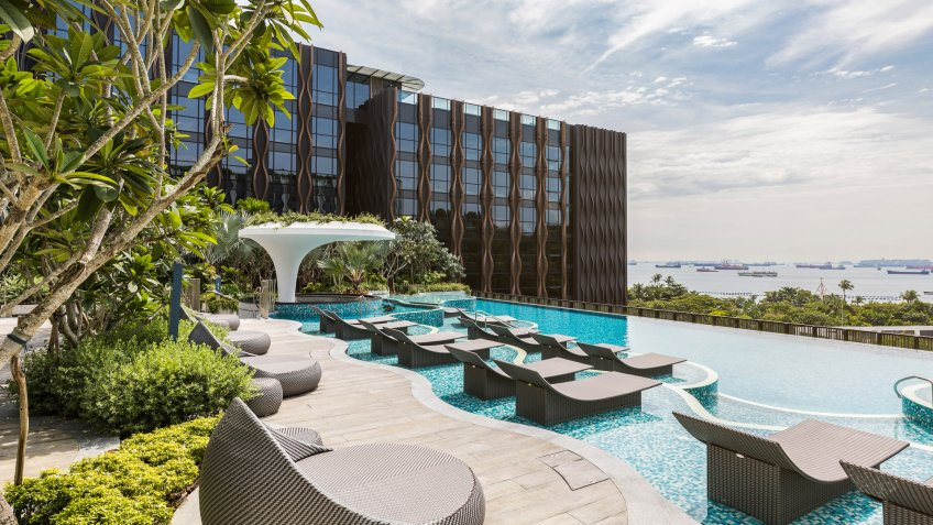 The Outpost at Sentosa luxury hotel
