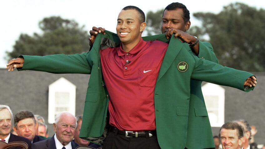 Tiger Woods golfer successful athlete