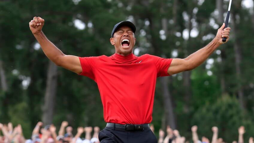 Tiger Woods net worth as he wins the 2019 Masters golf tournament