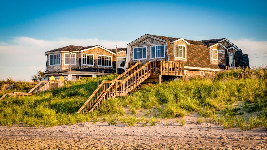 Virginia Beach beach house on the oceanfront