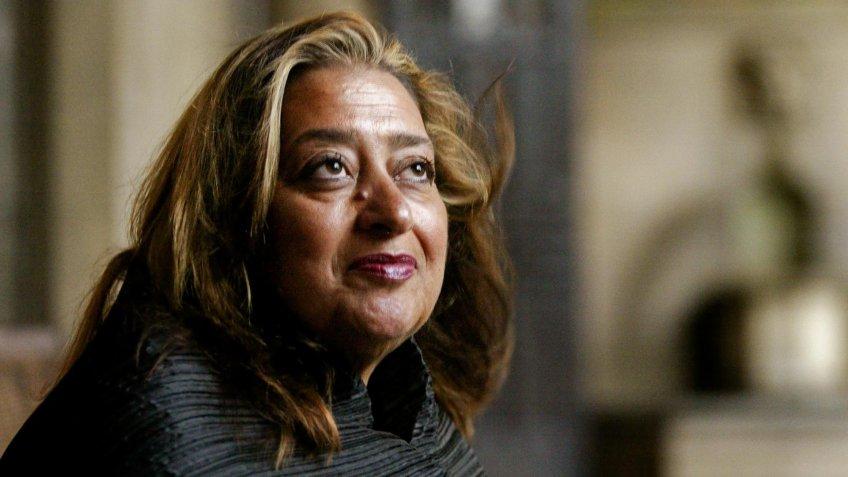 Zaha Hadid British female architect