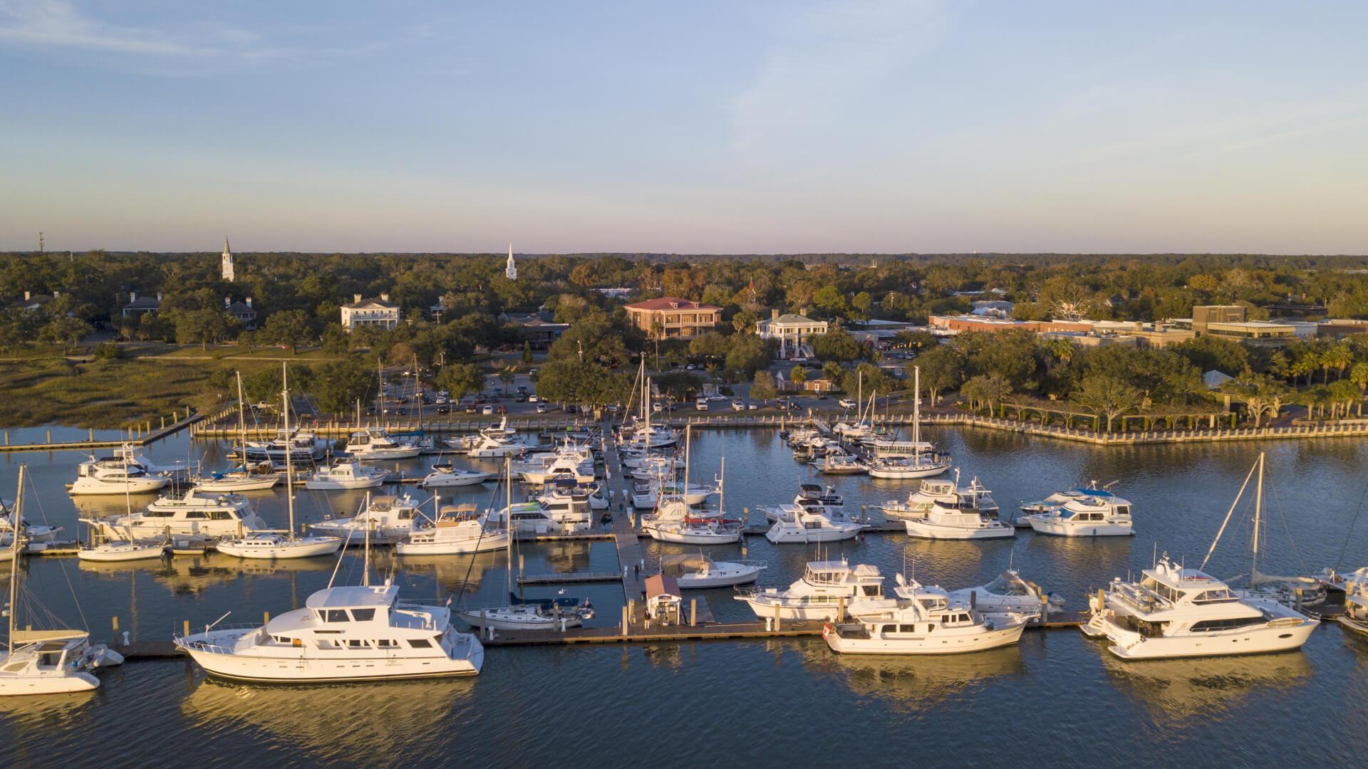 beach cities Beaufort, South Carolina