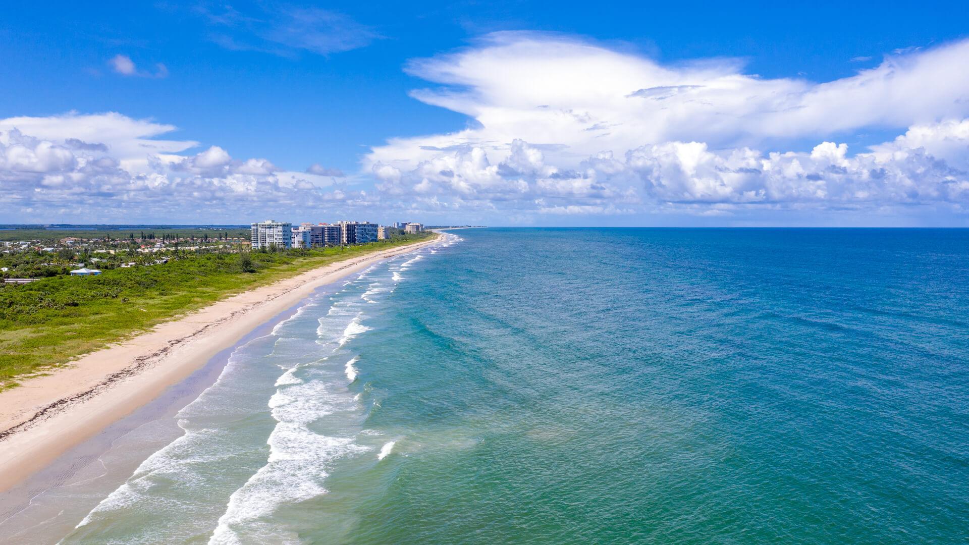 beach cities, Fort Pierce, Florida