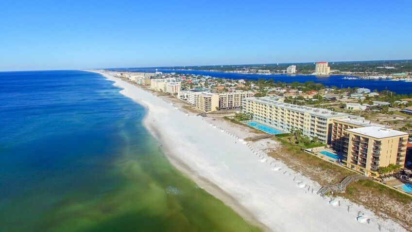 beach cities Fort Walton Beach Florida