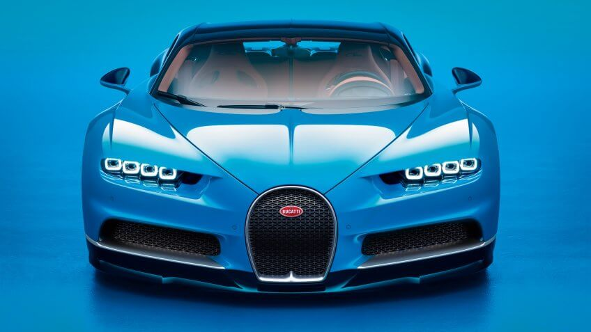 Bugatti Chiron luxury car