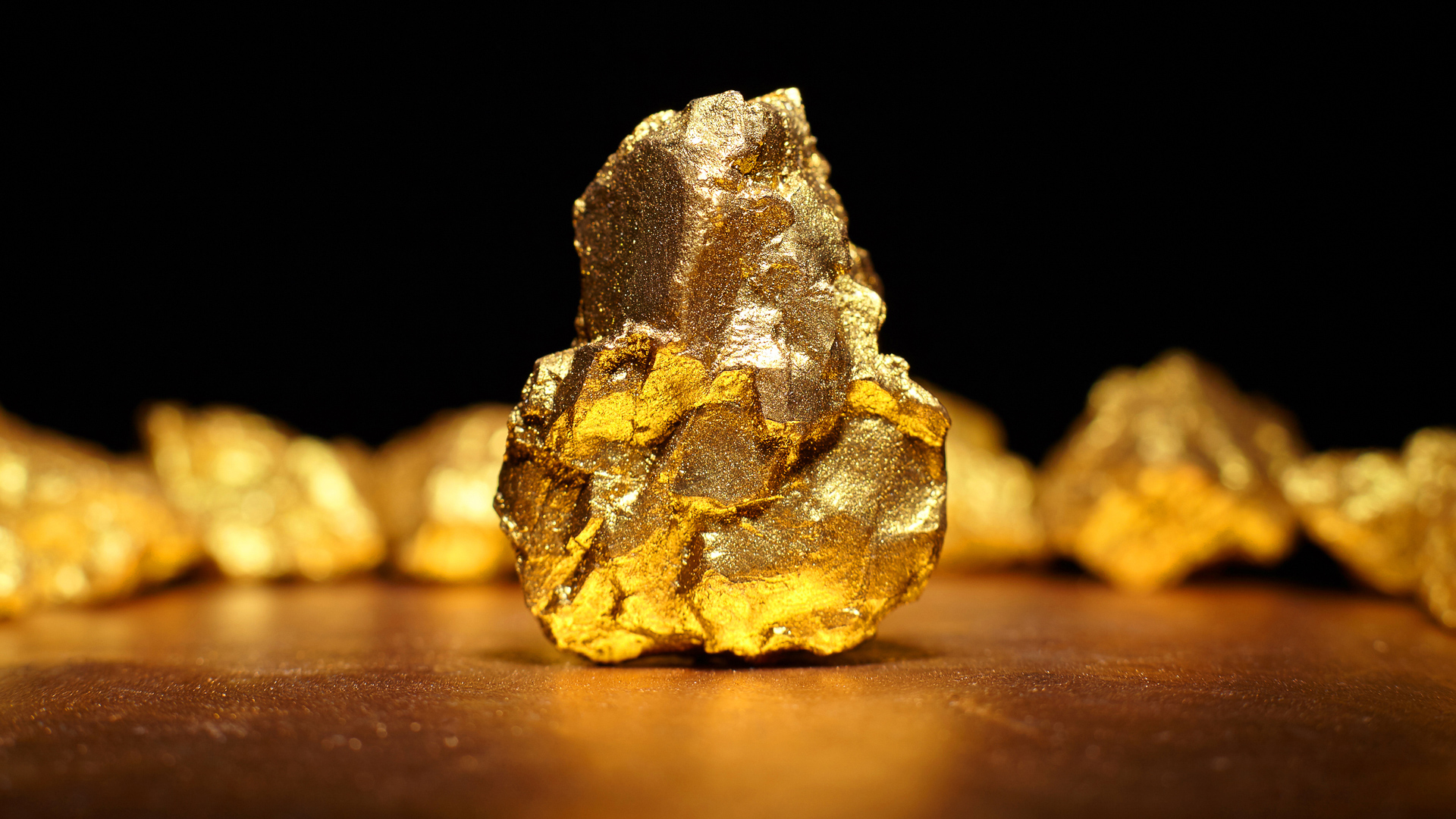 gold rock commodity