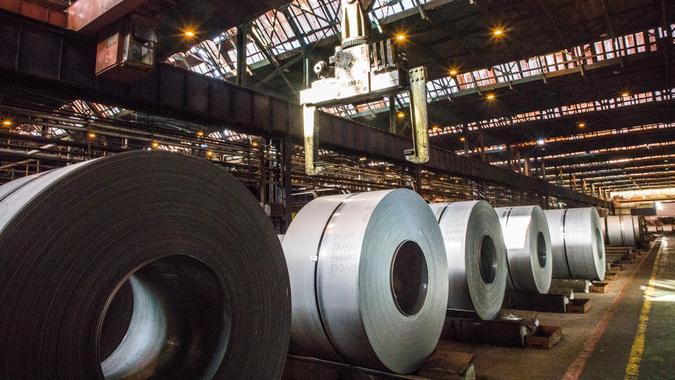 steel mill job growth