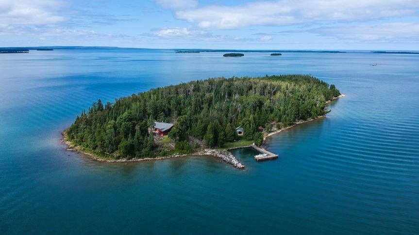Gull Island, Michigan