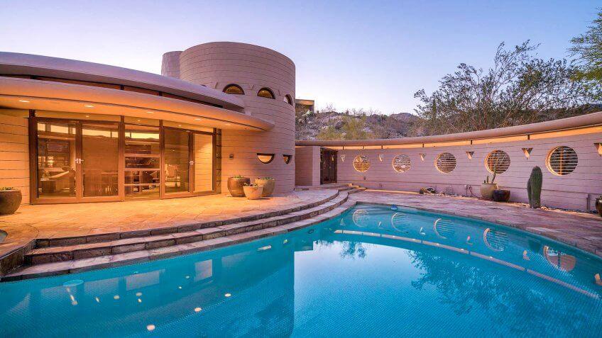 Lykes House designed by Frank Lloyd Wright