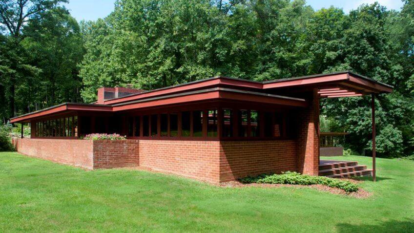 James B. Christie House designed by Frank Lloyd Wright