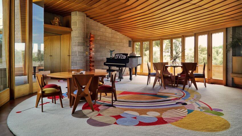 David and Gladys House designed by Frank Lloyd Wright
