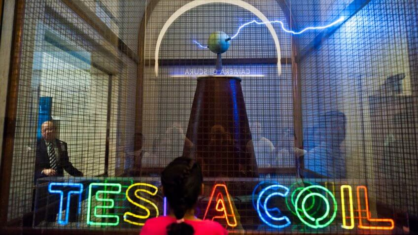 Tesla Coil at the Griffith Observatory