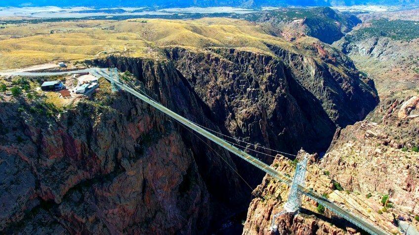 Royal Gorge Bridge In Colorado, USA