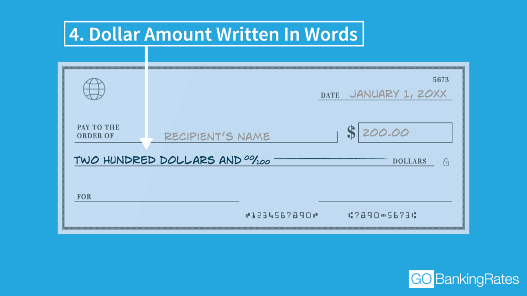 how to write a check with hundreds and cents