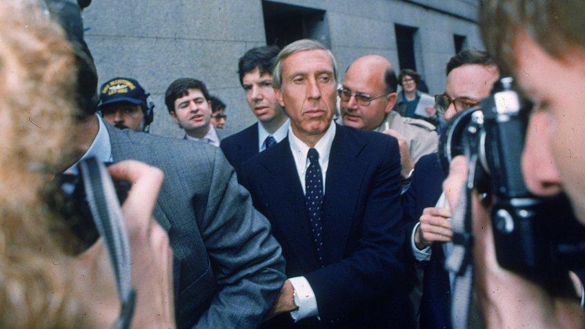1987 photo of financier Ivan Boesky in New York City
