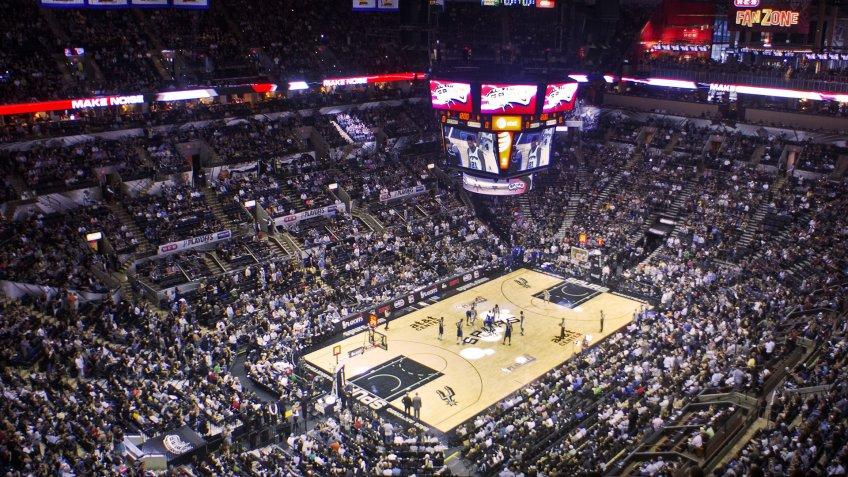 AT&T Center San Antonio Spurs