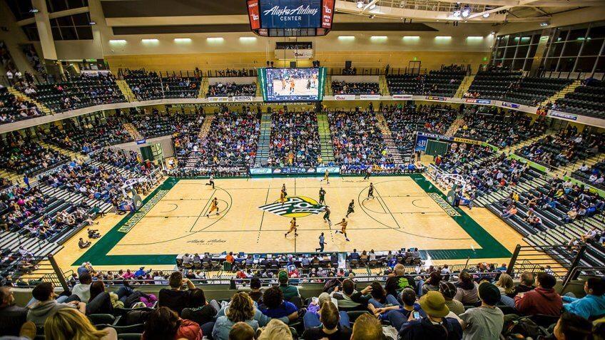 Alaska Airlines Center Alaska NCAA basketball