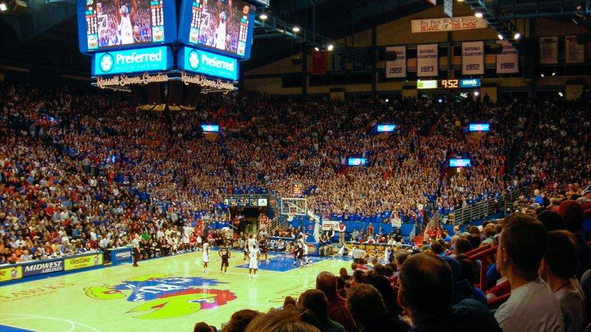 Allen Fieldhouse Kansas NCAA basketball