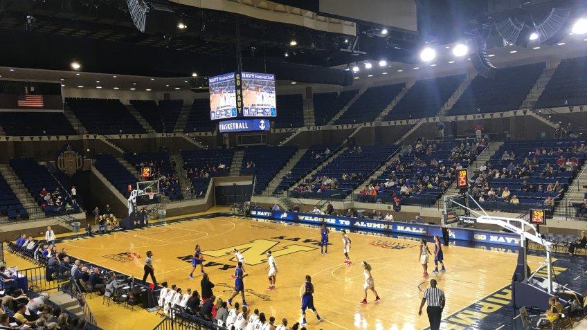 Alumni Hall Maryland NCAA basketball