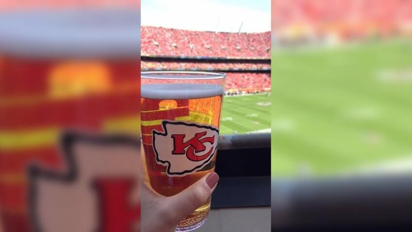 Arrowhead Stadium Kansas City Chiefs stadium food