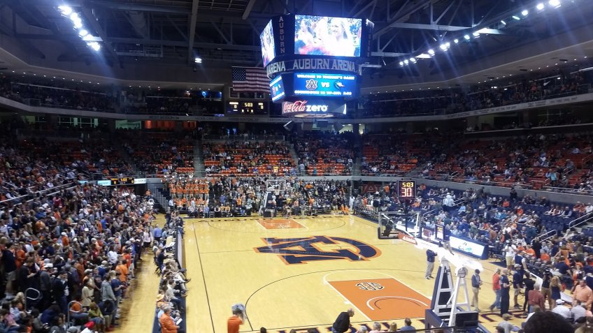 Auburn Arena Alabama NCAA basketball