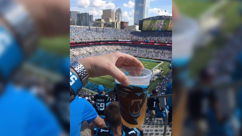 Bank of America Stadium Carolina Panthers football stadium