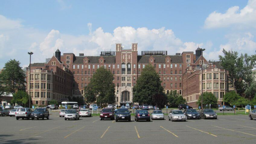 Baystate Medical Center in Springfield Massachusetts