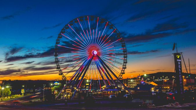 Branson Ferris Wheel in Branson Missouri