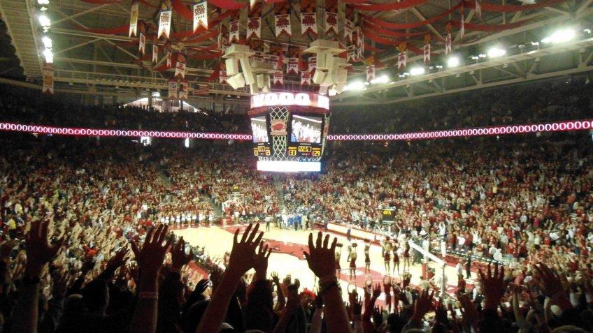 Bud Walton Arena Arkansas NCAA basketball